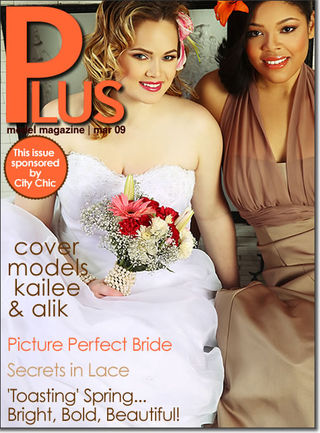 plus model magazine march 2009