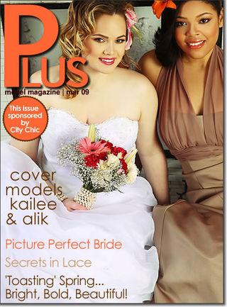 plus model magazine march 2009